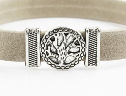 "2x Tiroir /""Tree of Life/"" id10 mm-Bracelet Fabrication thuya"