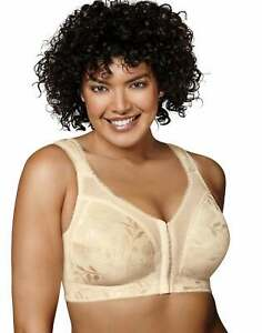 Playtex-18-Hour-Easier-On-Front-Close-Wirefree-Bra-Flex-Back-Women-Comfort-Strap