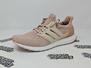 Adidas Ultra Boost W Women s 4.0 Ash Peach Pearl Pink Linen Clear ... 85787a99e