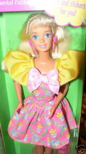 EASTER PARTY BARBIE DOLL IN BOX 1994