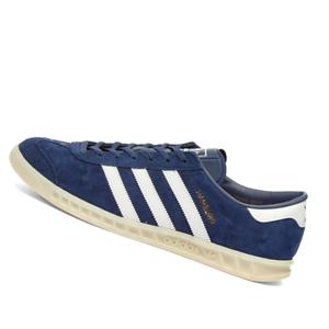 ADIDAS-MENS-Shoes-Hamburg-Marine-White-amp-Off-White-EF5788
