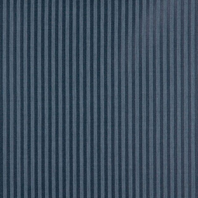 A136 Dark Blue Two Toned Stripe Upholstery Fabric By The Yard