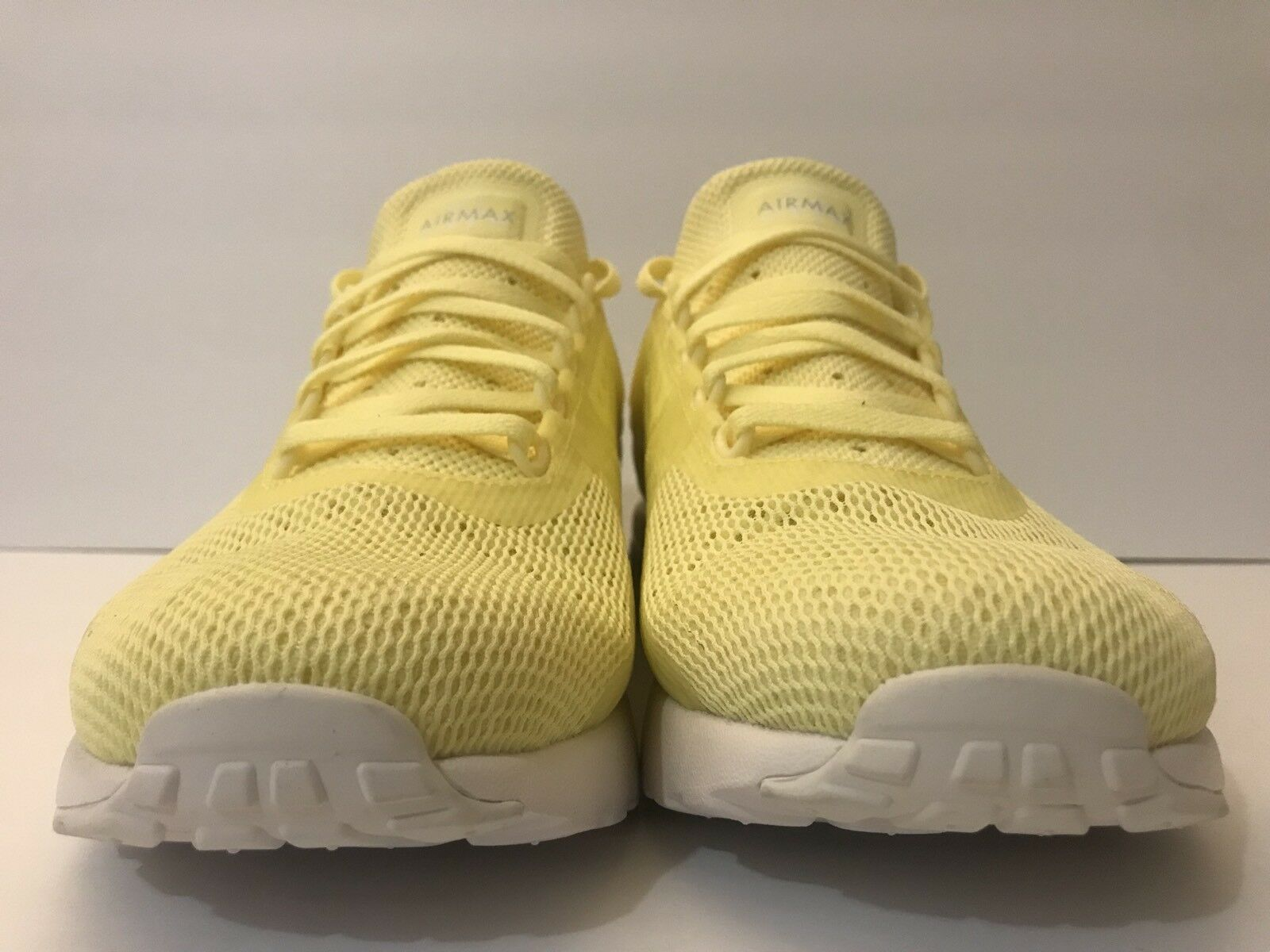 reputable site 2a635 50546 ... Nike Air Air Air Max ZERO BR Breathe Lemon Chiffon Yellow White 903892  ...