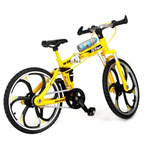A1E5 Simulation Fahrrad Fahrradmodell Blau Gelb Rot Klettern Mountainbike Für