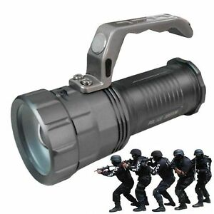 TORCIA-TATTICA-MILITARE-28000-LUMEN-58000W-LED-T6-RICARICABILE-DS-POTENTE