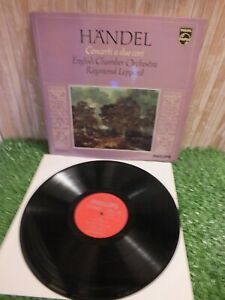 Handel English Chamber Orchestra  Concerti a Due Cori LP Record 33