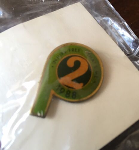 NIP PUBLIX P Shaped Injury Free 2 Year Collectible Tie Tack Or Pin