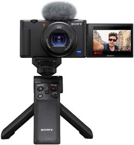 Sony-Camera-VLOGCAM-with-Shooting-Grip-Kit-ZV-1G-for-Sony-Vlog-NEW