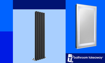 10% off Towel Rails, Radiators & Mirrors