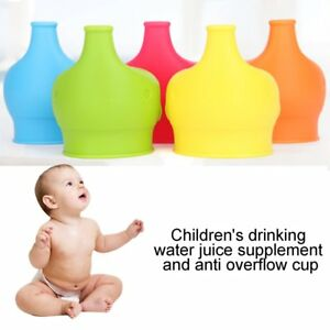 Elephant Silicone Sippy Cup Lid Spill-Proof Cup Cover Babies Drinking Tool 9B