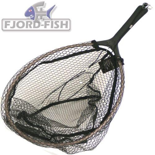 GREYS Scoop Net medium Kescher 45x33cm Watkescher Angelkescher Forellenkescher