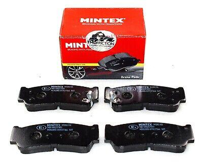 REAL IMAGE OF PART MINTEX REAR AXLE BRAKE PADS HYUNDAI SANTA H 1 MDB2855