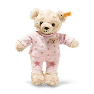 Steiff-109898-Teddy-and-Me-Teddybaer-Maedchen-mit-Schlafanzug-27-cm