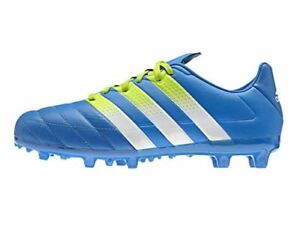 Nouveau Adidas Performance Boys 'ace 16.3 Firm Ground Turf Chaussures De Football-afficher Le Titre D'origine