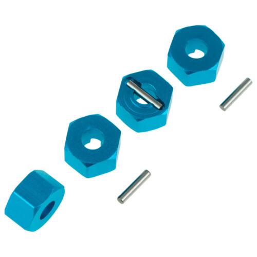 4x 7mm Thick Wheel Hex Hub Adapte 6869 For Rc Model Car 1//10 Traxxa Slash SLA016