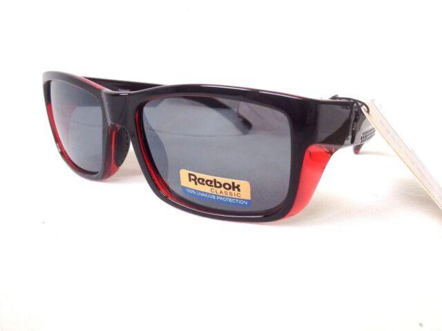 f1ac18e2c9 Reebok Classic Mens Sport Sunglasses Red R672-2 for sale online
