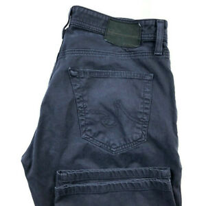AG-Adriano-Goldschmied-Mens-31X32-The-Protege-Straight-Leg-Blue-Pants