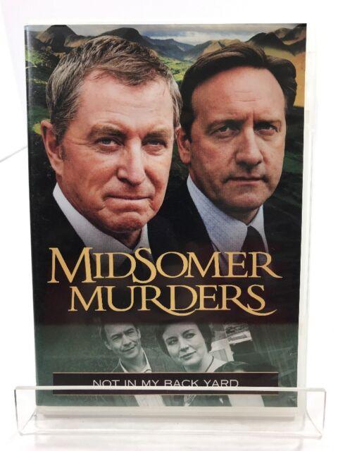 DVD Midsomer Murders Not In My Back Yard British Mystery ...