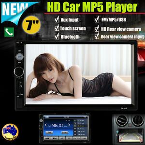 Double-2-Din-7-039-039-Car-Stereo-Radio-MP5-Player-FM-USB-In-Dash-Bluetooth-Camera-S