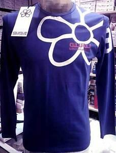 logotipo manga G99055 camiseta hombre larga y frente arte impresa Jersey gurú retro qgxzwPdAt