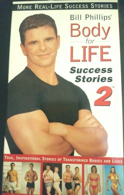 Bill Phillips Body For Life Success Stories 2 For Sale Online Ebay