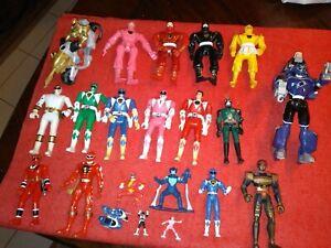 Vintage Mighty Morphin Power Rangers Figures  Bandai 1990s lot bundle