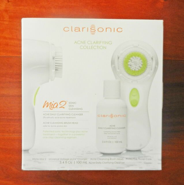 Clarisonic Mia 2 Acne Clarifying Sonic Skin Care System w/ 2 year warranty