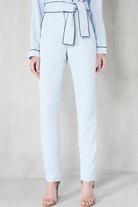 Slim Baby Ceinture Cravate Taille Alice Lavish X Pantalon large Bleu vwaF7KKRq