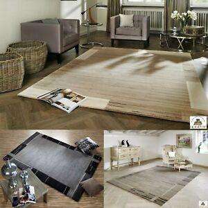 Nepal-Teppich-Salma-Schurwolle-mit-Bambus-Viskose-Handgeknuepft-Wohnzimmer