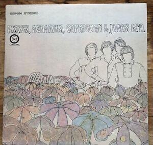 """MONKEES """"PISCES, AQUARIUS, CAPRICORN & JONES LTD."""" VINYL LP COS-104 1967"""