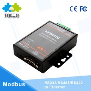 HF5111B-RJ45-RS232-485-422-To-Ethernet-FreeRTOS-Serial-Port-Server-Converter
