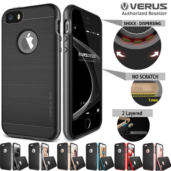 buy online e36ab 83c32 iPhone SE 6s case 6 Plus 5s 5 for Apple Genuine VERUS High Pro Shield Cover