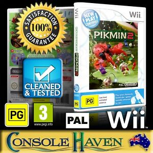 Wii Game Pikmin 2 Ii New Play Control Pg Strategy Pal