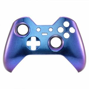 Details about Custom Xbox One Elite Controller Front Shell Faceplate  Replacement Blue/Purple