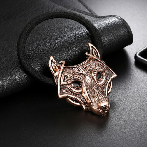 Fashion Jewelry North Vikings Wolf Hair Bands Celtic Style Elastic Tribal W/_hg