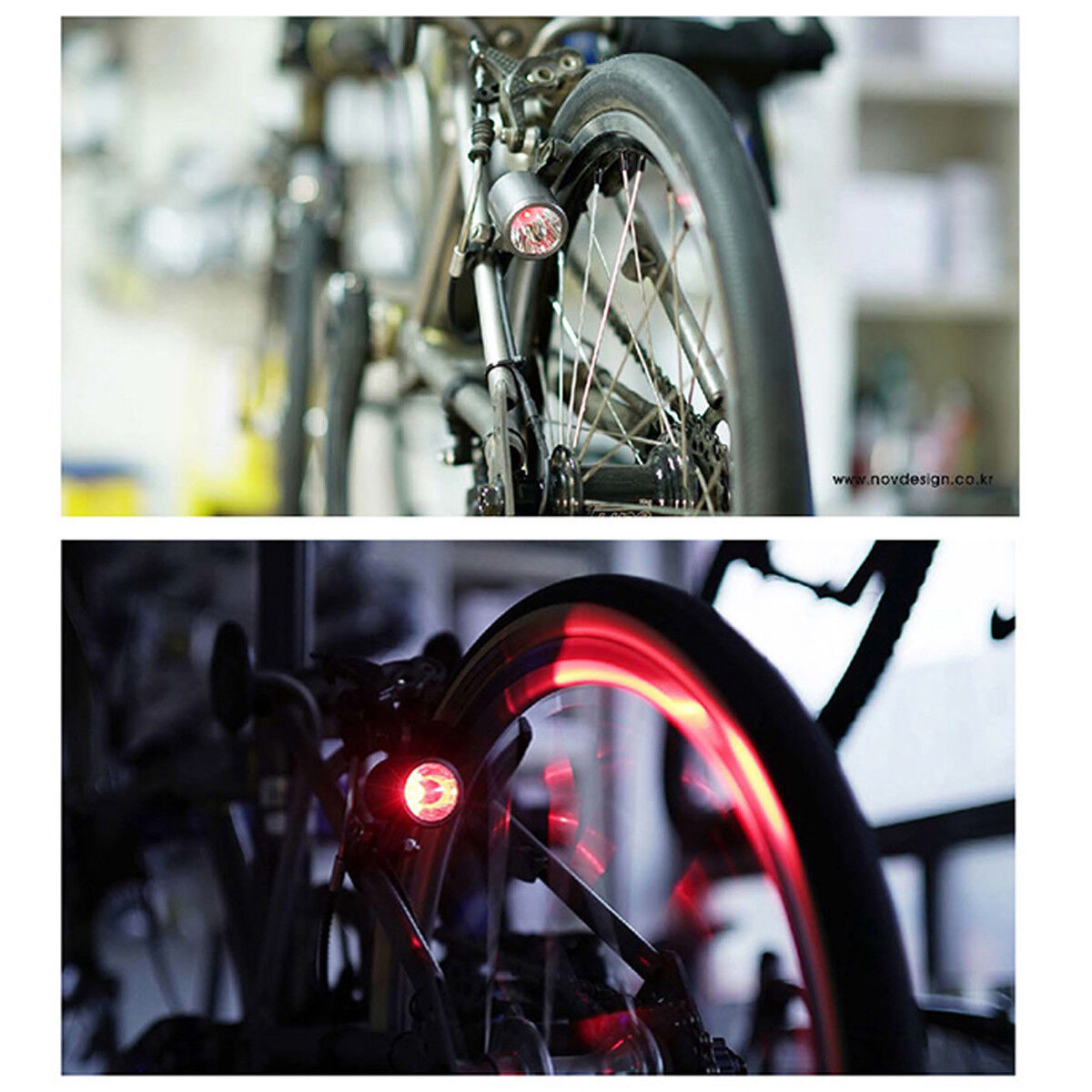Nov dynamo set for Tail Light Ver 3.0, contactless type