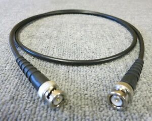 BNC Plug Male Straight To BNC Plug Male Straight 1M Black Coaxial RF Cable - London, United Kingdom - BNC Plug Male Straight To BNC Plug Male Straight 1M Black Coaxial RF Cable - London, United Kingdom
