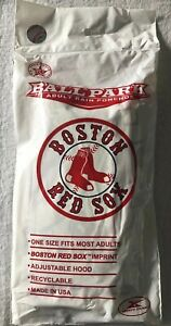 MLB-Boston-Red-Sox-Baseball-Hooded-Poncho-One-Size-Fits-Most-NEW