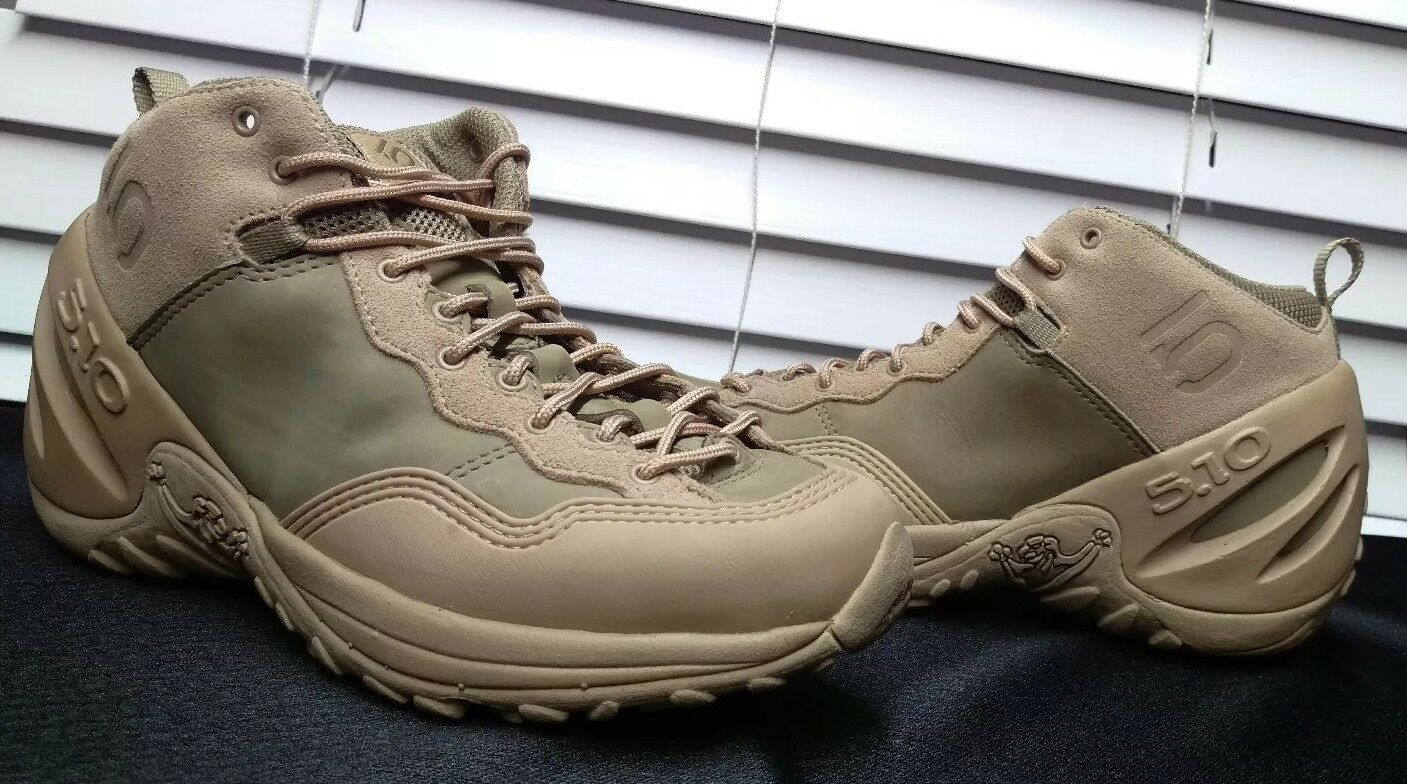 FIVE TEN 5.10  HIKING  Climbing Traction shoes MEN's Size 7.5 light tan  factory outlet online discount sale