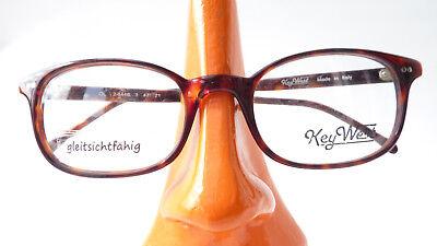 Coscienzioso Unisexbrille Classica Versione Telaio Corno Ottica Marrone Key West In Plastica Taglia S-mostra Il Titolo Originale