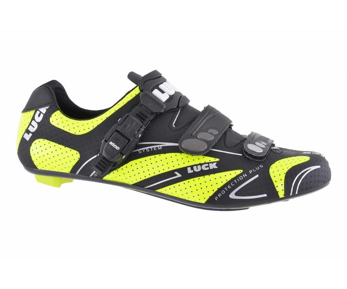 LUCK zapatos CICLISMO hombres MOD. STRADA MIS. 42 - NUOVE