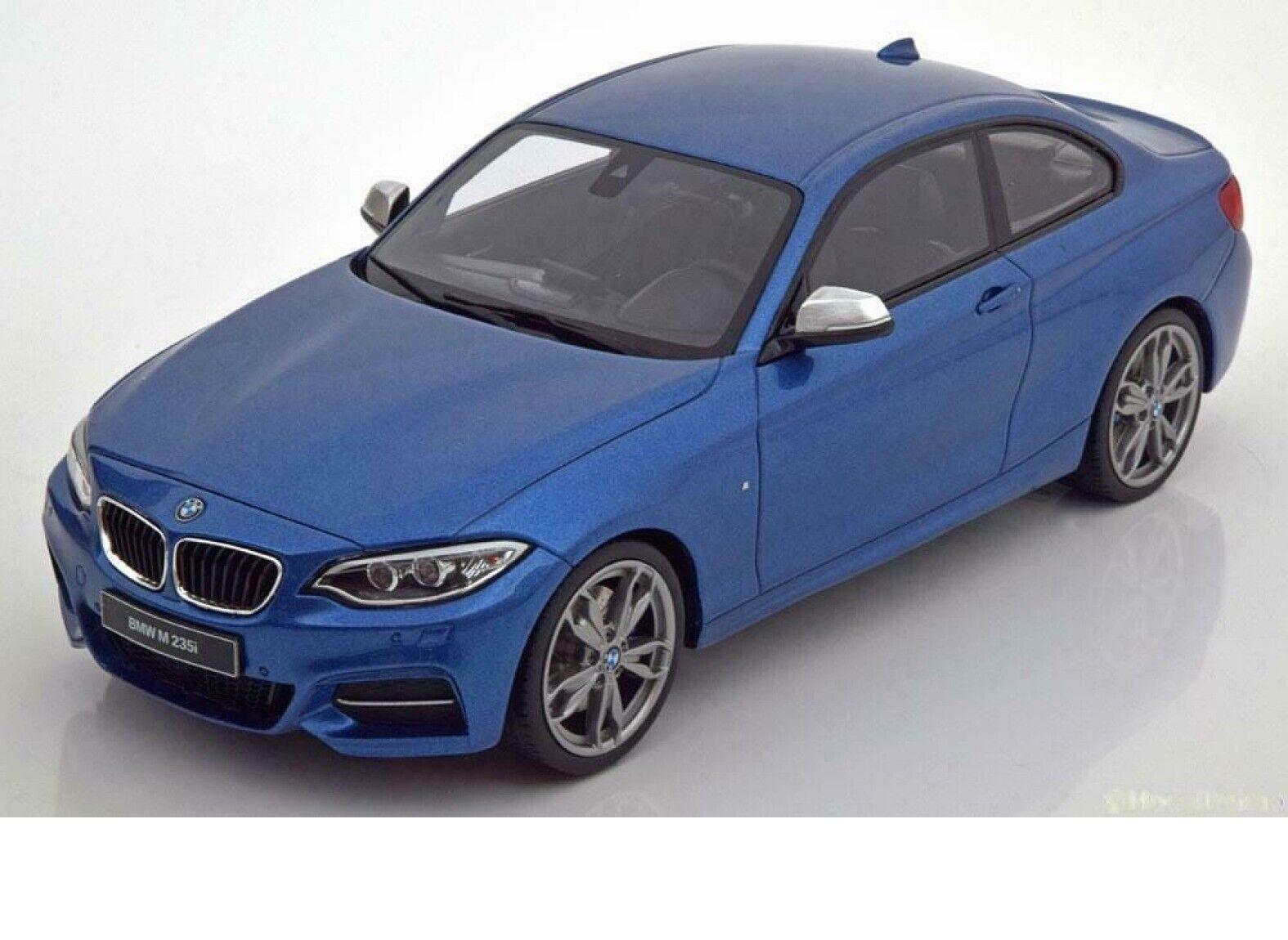 BMW M235i azul Metálico 1 18 Gt-Spirit Coche Modelo Edición Limitada De Regalo Perfecto