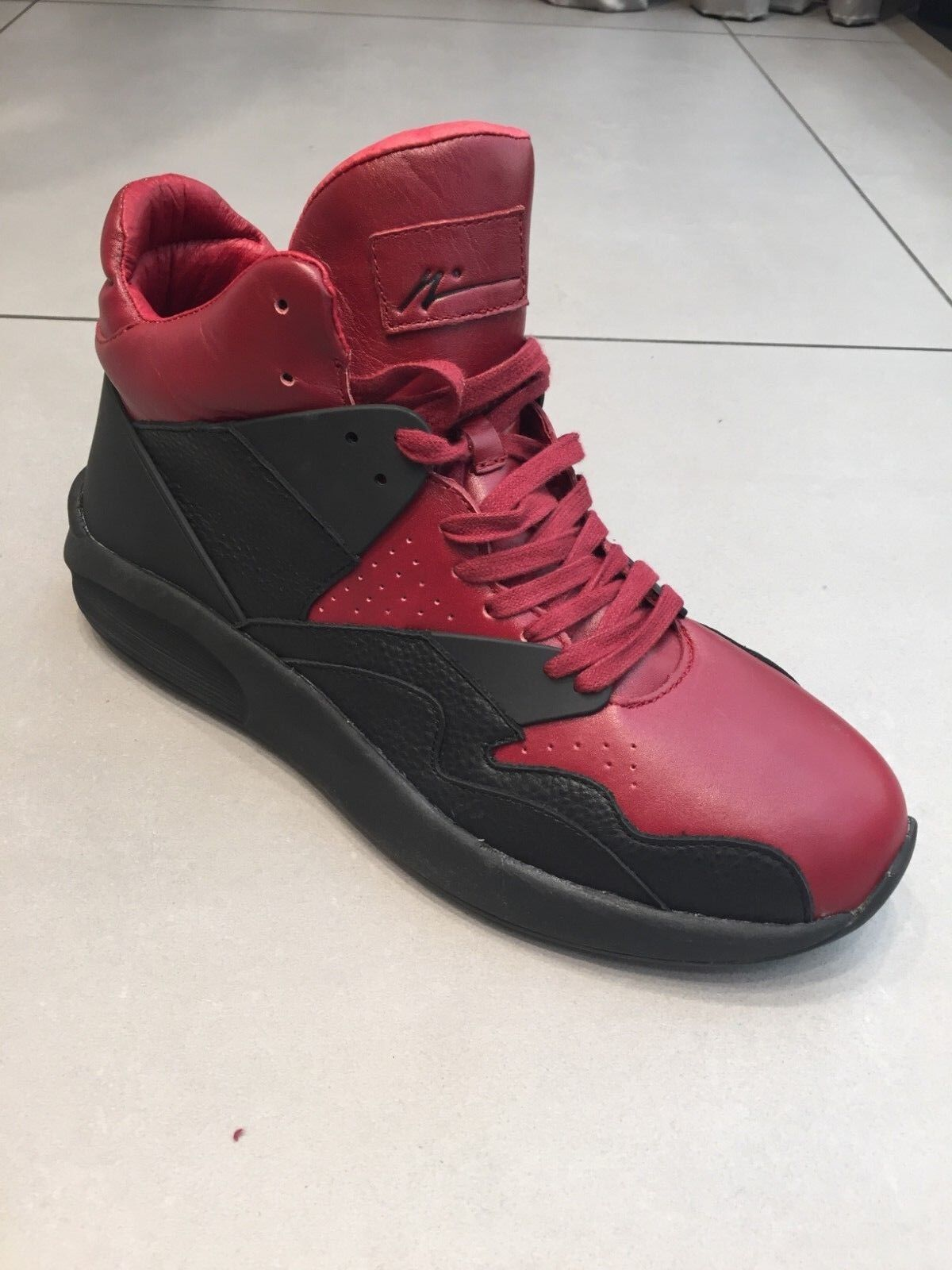 Article No Men shoes- Black Red- Brand New- size 8 9.5 10 11 12 13 retail  270
