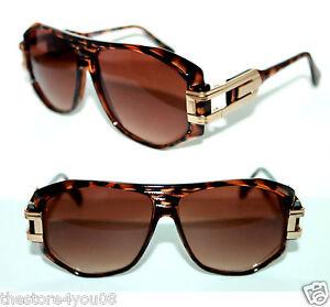 Mens Vintage 163 Grandmaster Retro Sunglasses 80s Brown ...
