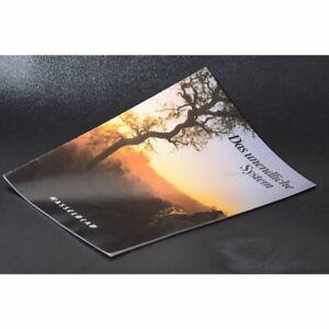 Hasselblad Das Unendliche System Prospekt / Broschüre / Heft / Leaflet / DEUTSCH