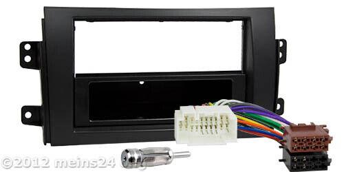 Radio diafragma adaptador autoradio instalación marco antenas de cable conector suzuki sx4