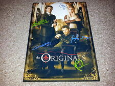 """THE ORIGINALS PP CAST X5 SIGNED 12""""X8"""" A4 PHOTO POSTER VAMPIRE DIARIES N2"""