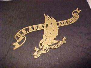 Details about ORIGINAL WWII USAAF PILOT CADET LOG BOOK SET