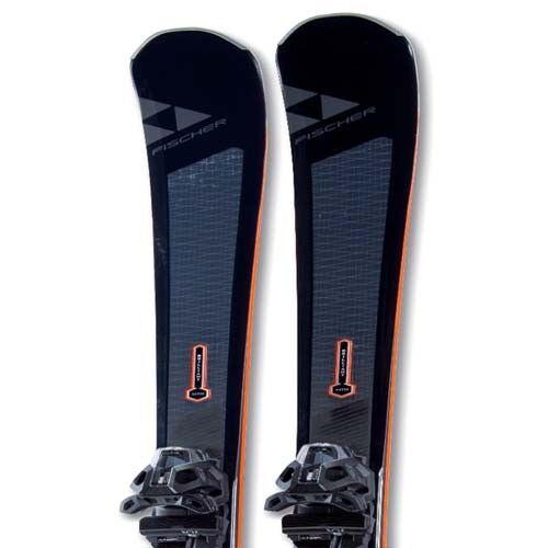 Fischer 2018 Brilliant Mountain Skis w/MBS 13 Bindings NEW    168,173,180cm