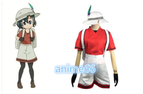 Hot!Cosplay Costume KEMONO FRIENDS Kaban Uniform Anime  FF.739